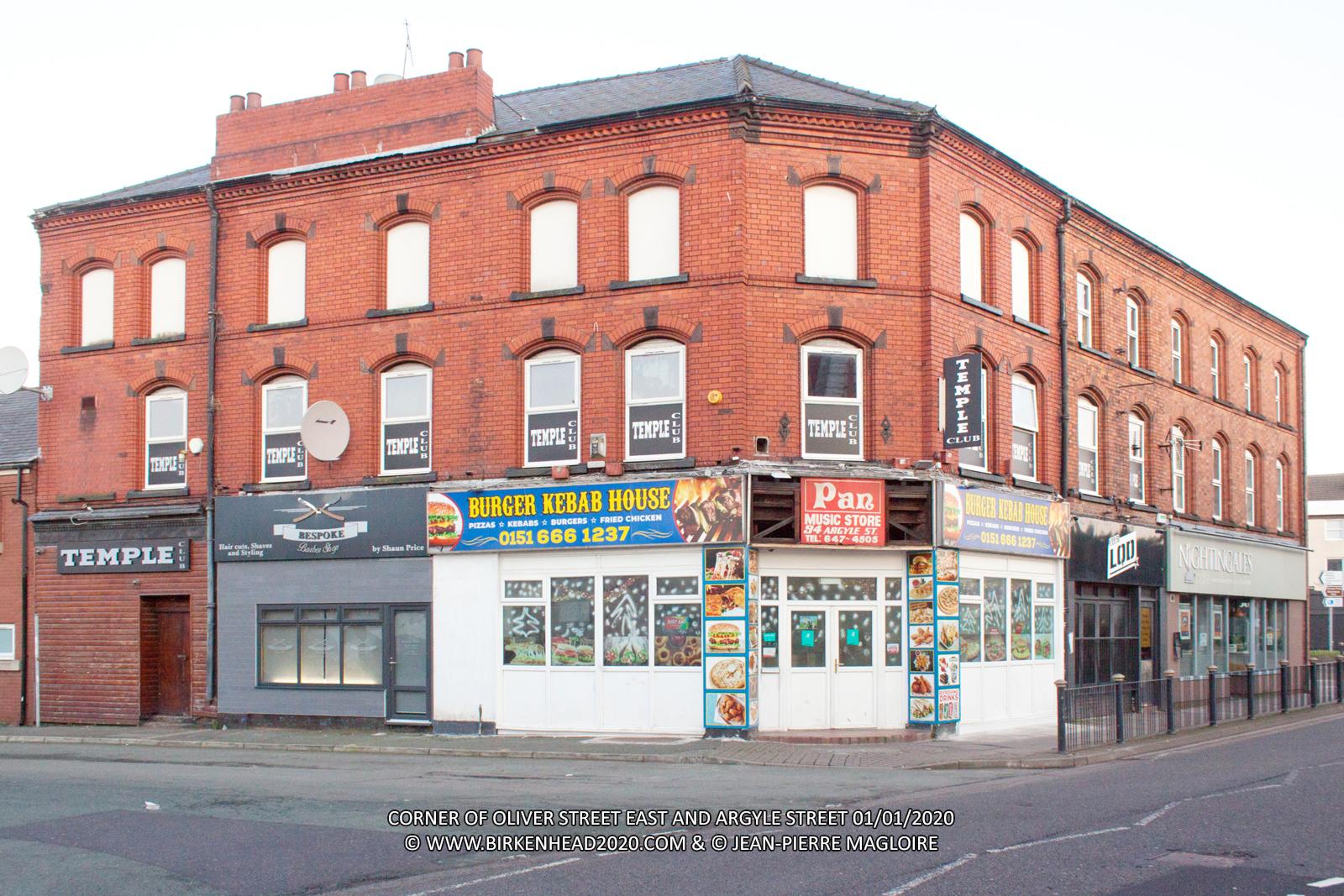Burger Kebab House_Argyle St_Oliver St East