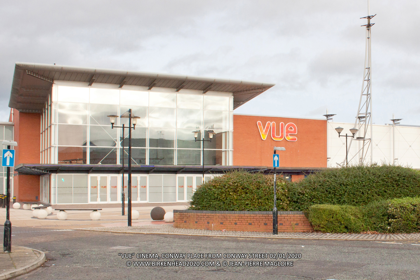Vue Cinema from Conway Street